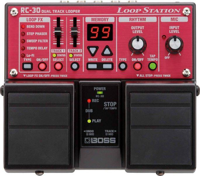 Loop pedal til guitar. Bliv en den Ed Sheeran og lær loop pedalen at kende.