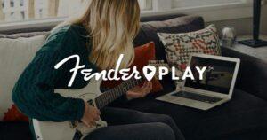 Online guitarundervisning fra fender