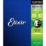 elixir optiweb guitar strenge