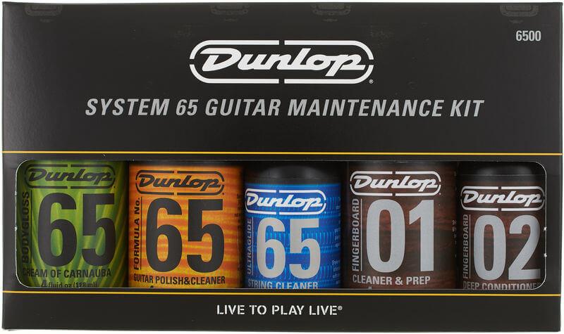 kit til rengøring af guitar