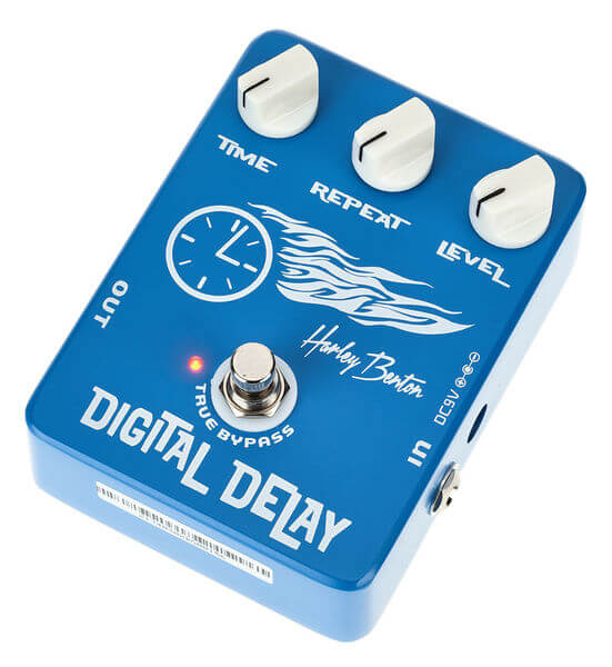 billig digital delay guitarpedal