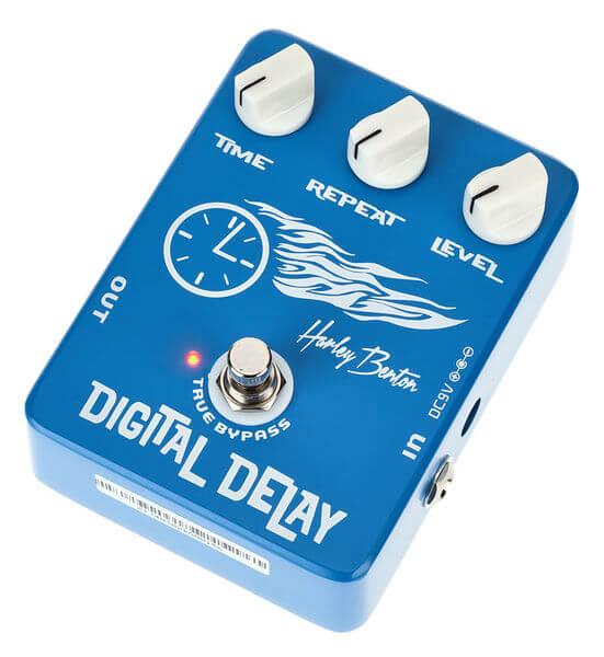 billig digital delay guitarpedal