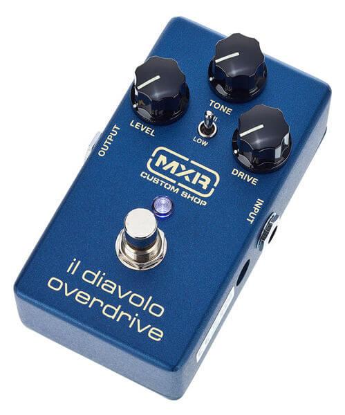 Bedste MXR overdrive pedal