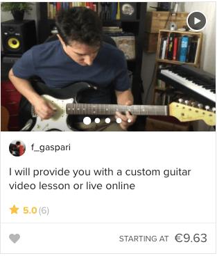 Tjen penge med sin guitar med undervisning