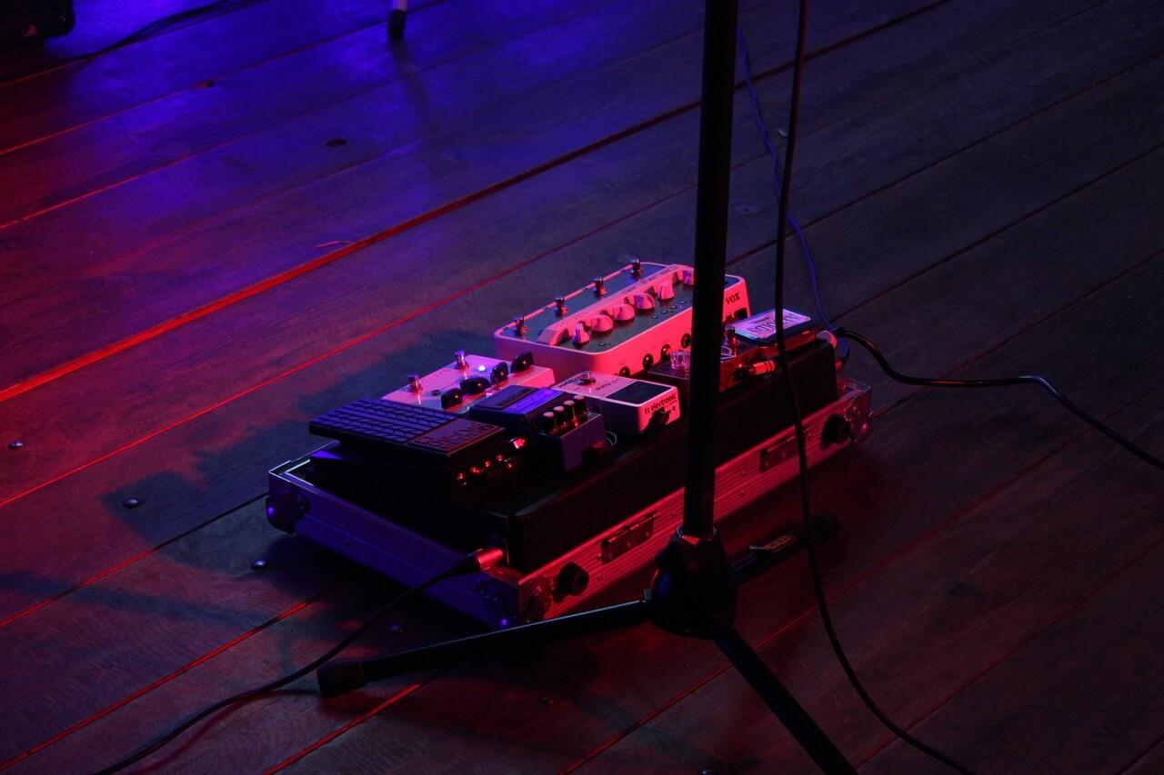 Billig pedalboard
