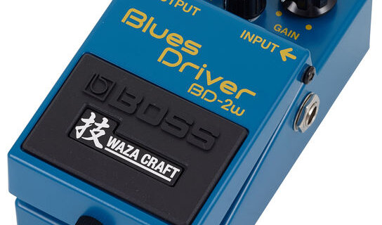 Boss Waza BD pedal